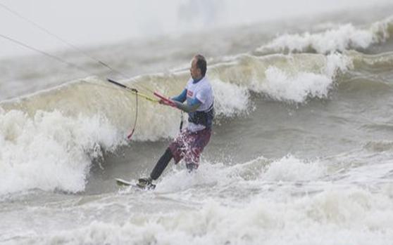 高清组图 | 2018海南亲水运动季国际风筝帆板公开赛海口开幕