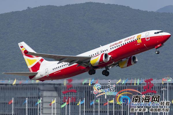 三亚凤凰机场年度旅客吞吐量直奔2000万新开13条境外航线