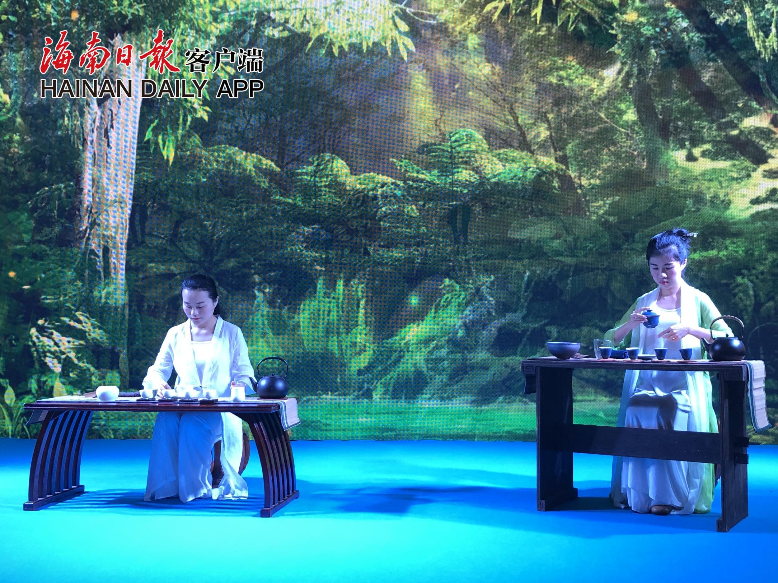 2018冬交会首设海南茶产业文化馆 推介海南本土茶叶品牌
