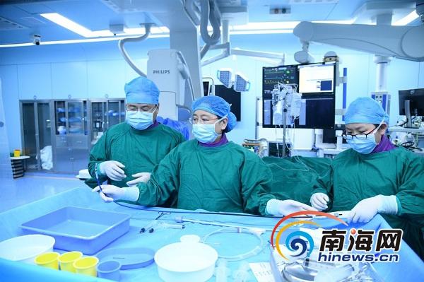 我国首例无导线心脏起搏器临床市场化植入在博鳌超级医院完成