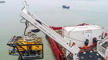 南方电网首个作业级水下机器人落户海南