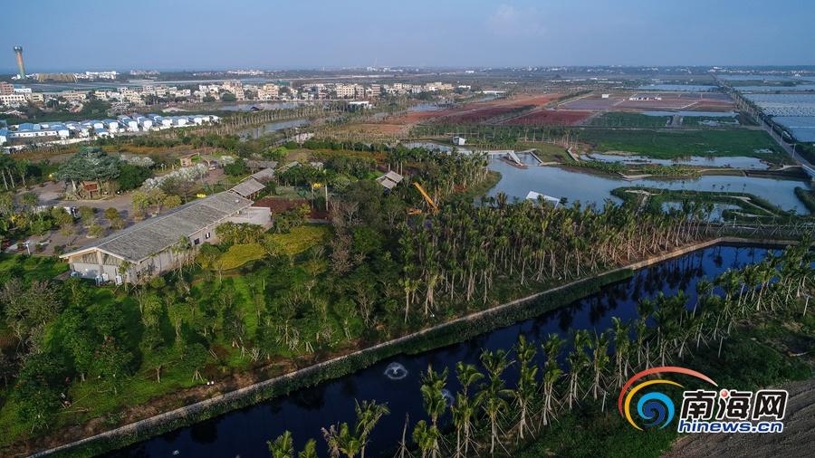 组图|空中俯瞰桂林洋国家热带农业公园