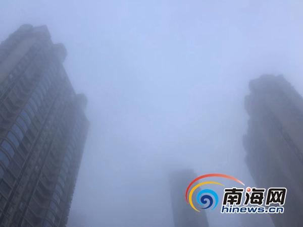 橙色预警!海口澄迈定安万宁或出现能见度小于200米大雾