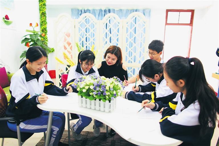 海南日报教育周刊丨海南普通高中学校开设学生生涯规划教育课程
