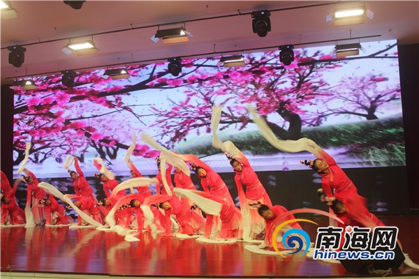 海南(海口)特殊教育学校举办中学生职业技能