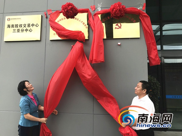 "<b>三亚市互联网双创中心党支部成立""党建+服务""打造创业之家</b>"