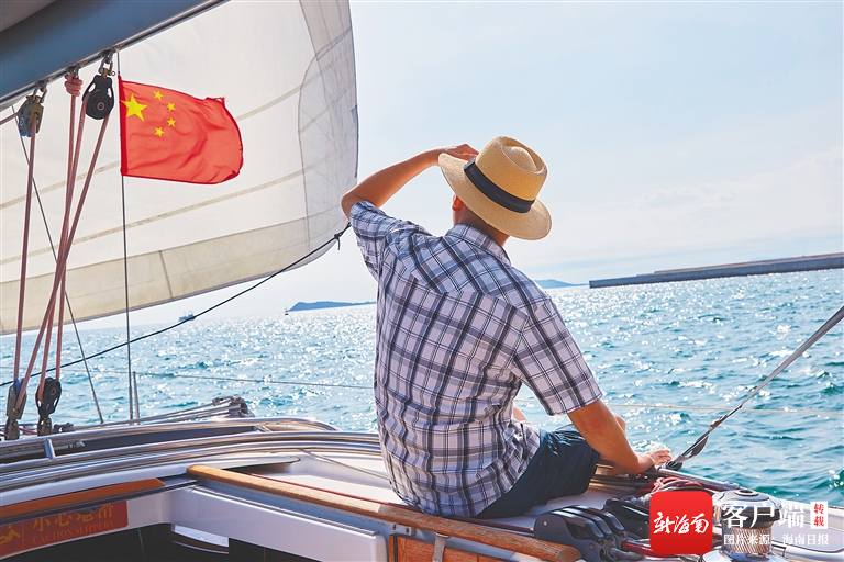"00320851489 a332a750 - Tourism Weekly | Hainan's ""Boat"" Special Yacht Tour From ""Niche High-end"" into the lives of ordinary people"