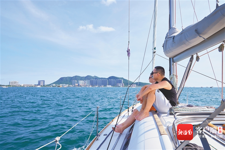 "00320851490 6f03dd09 - Tourism Weekly | Hainan's ""Boat"" Special Yacht Tour From ""Niche High-end"" into the lives of ordinary people"
